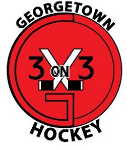 Logo for 3 on 3 Hockey (Georgetown)